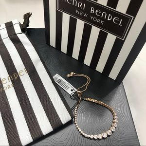 Henri Bendel Luxe Rose Gold Bracelet - NWT
